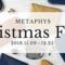 METAPHYSクリスマスフェア開催中!